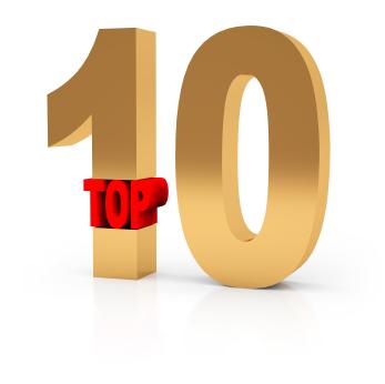 Top Ten de usuarios de Twitter