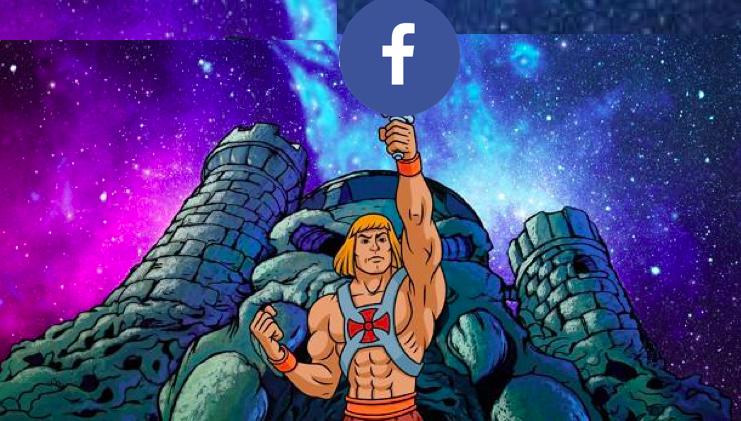 💪💪¡Por el Poder de Facebook!¡Yo tengo el poder!