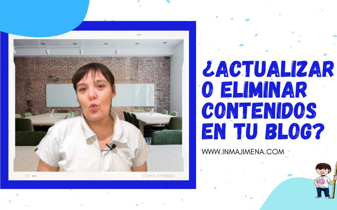 😅 ¿Actualizar contenidos o cargártelos?